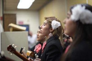 Olympian High School Mariachi visits District Office