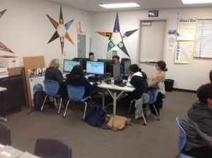 Hour of Code at Olympian High School