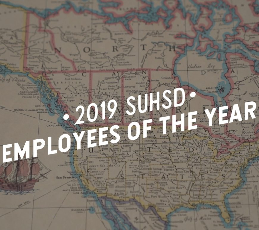 2019 SUHSD Employees of the Year Video!