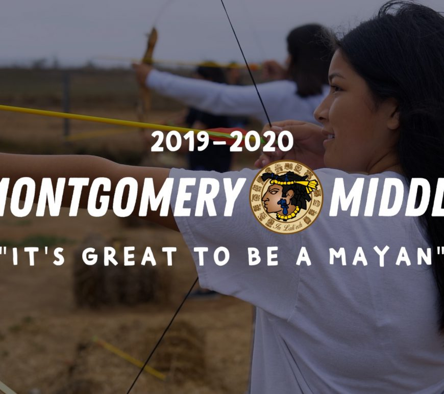 Montgomery Middle School Mayans 2019-2020