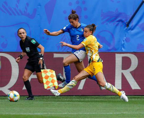 Chula Vista High School alumnus Felisha Mariscal has carried the family's soccer tradition all the way to the Women's World Cup. Courtesy photo