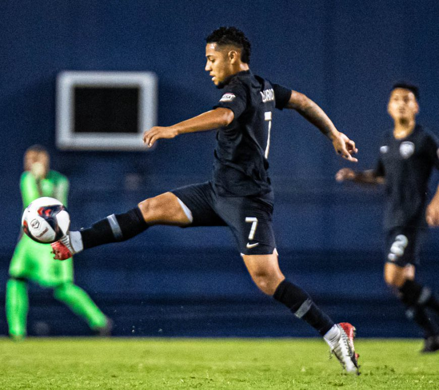 Castle Park High School alumnus Felipe Liborio has played for both ASC San Diego in the NPSL and San Diego 1904 FC in the NISA. Photos courtesy SD 1904 FC