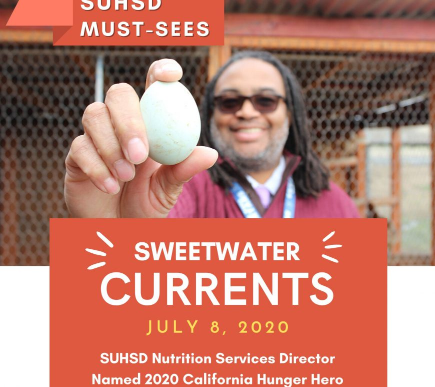 Sweetwater District Nutrition Services Director Named 2020 California Hunger Hero