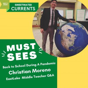 Must Sees - Christian Moreno – Q&A